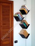 Libreria Singola In Acciaio Da Muro